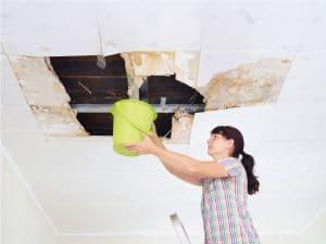 leaky roof repair